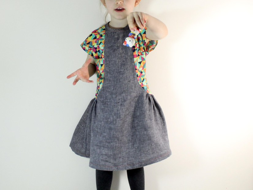 The Antalya dress, sewn by My Cozy Co