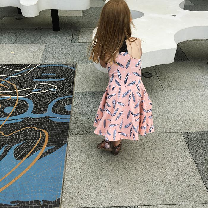 Solis dress, sewn by My Cozy Co