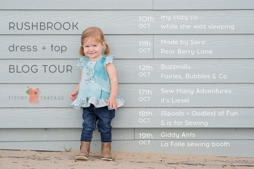 Rushbrook Dress and Top Blog Tour