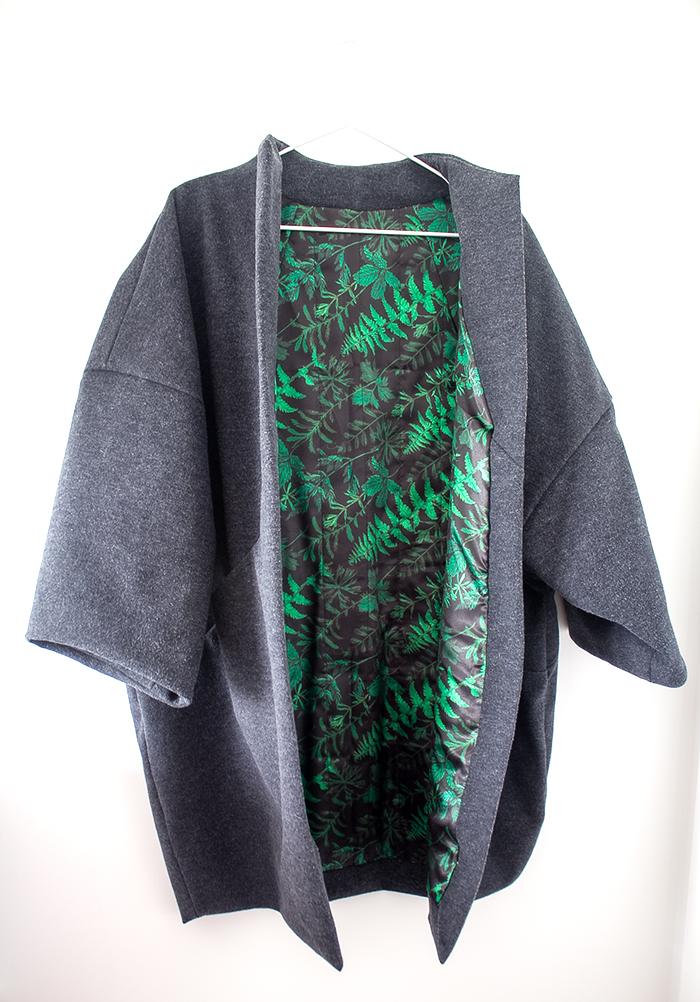 Sapporo Coat front