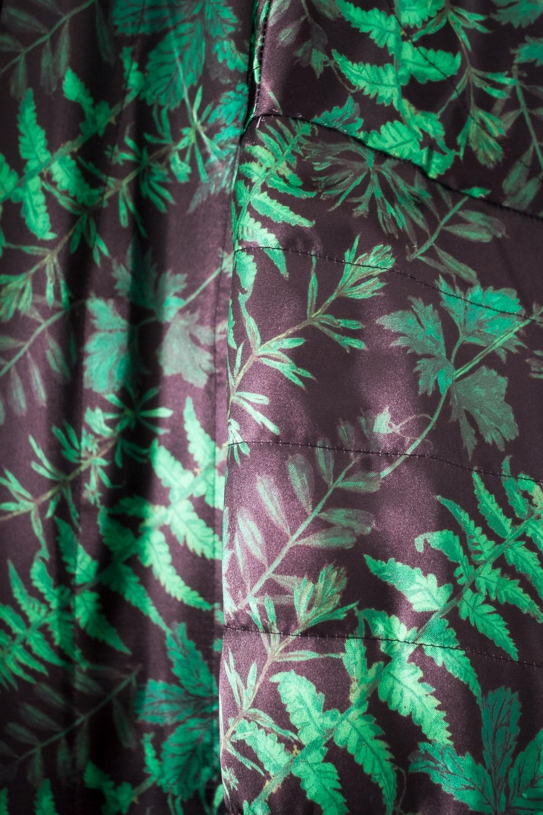 Sapporo Coat inside detail