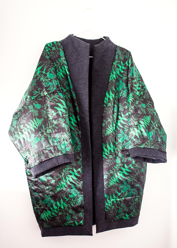 Sapporo Coat inside